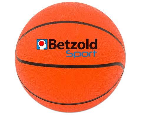 Betzold Sport 754445 – Basketball Größe 5 – Trainingsball für Schule und Freizeit, griffige Oberfläche