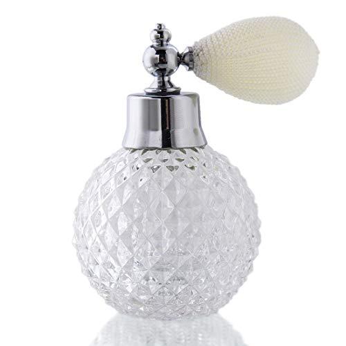 H&D Kristall Kunst Vintage-Stil Nachfüllbare Parfüm Zerstäuber Sprühflasche 100ml