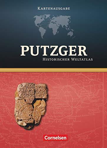 Putzger - Historischer Weltatlas - (104. Auflage): Kartenausgabe - Atlas mit Register