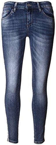 Basic.de Jogging-Hose mit seitlichem Glitzer-Streifen Jeans S