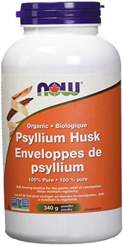 NOW Organic Psyllium Husk Powder, 340 g