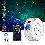 Proyector Inteligente Galaxy Star, Proyector De Luz Nocturna WiFi Star Sky para Decoración De Habitaciones, Iluminación De Cine En Casa, Compatible con Alexa Y Google Home