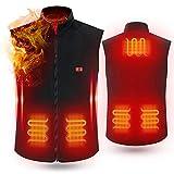Cenow Chaleco Térmico , ropa con calefacción alimentada por USB,...