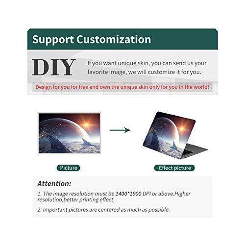 Universe starry sky laptop sticker DIY laptop skin 12/13/14/15/17 inch-CUSTOM-14'