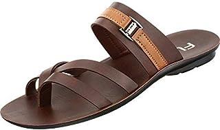 Relaxo FLITE Men's PU Slippers(PUG-44, Brown)