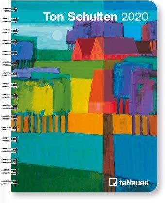 Ton Schulten - Buchkalender Deluxe 2020 - Kalenderbuch A5 - Taschenkalender - teNeues-Verlag - National Geografic - Taschenplaner mit Spiralbindung - 16,5 cm x 21,6 cm - Kunstkalender
