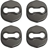 4 Piezas acero inoxidabl Cubierta de la Cerradura de Puerta de Coche para K-ia K3 K5 Freddy Cubierta Protección Interior Accesorios