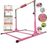 MARFULA Adjustable Gymnastics Bar Kip Bar with...
