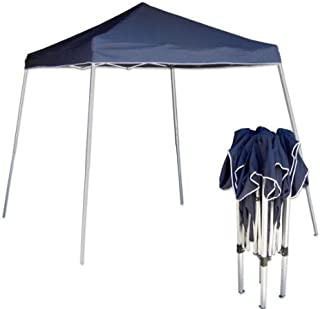 Tooluxe 61648L Portable Sun Shade Pop Up Canopy, Vinyl   1-Piece Instant Setup & Takedown   10' x 10'