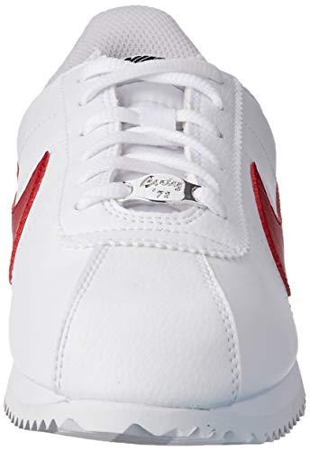 Nike Cortez Basic SL (GS), Zapatillas de Deporte Unisex Adulto, Rojo (Rojo 904764 103), 38 EU