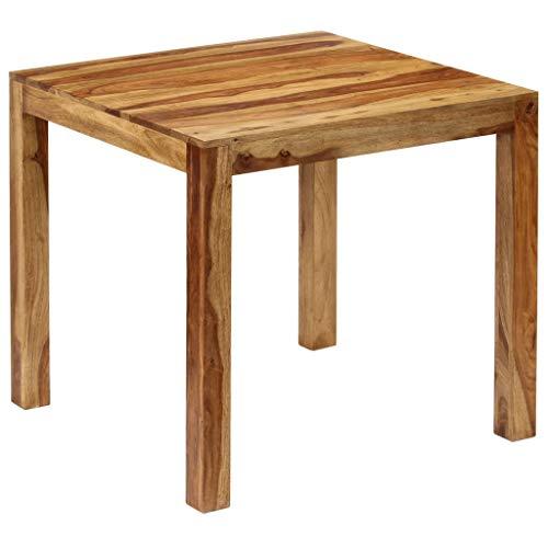 vidaXL Esszimmertisch Massivholz Sheesham Esstisch Küchentisch Holztisch Tisch