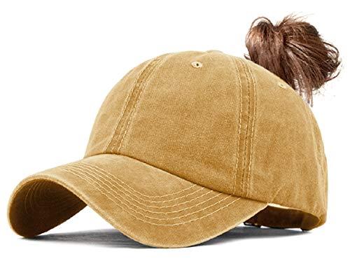 voqeen ponytail baseball hat cap