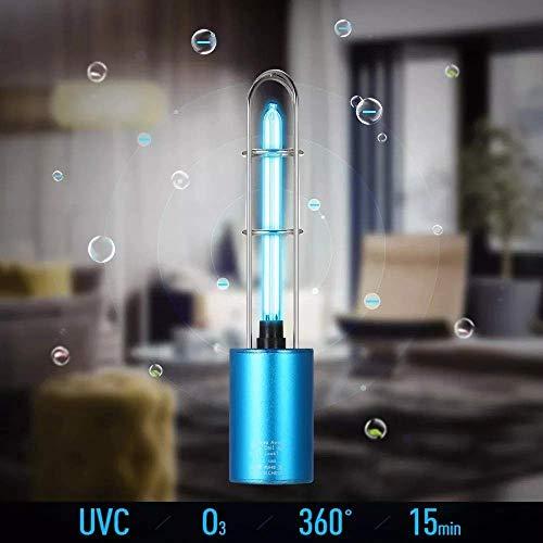 LK-HOME Lámpara desinfección UV portátil Recargable,Lámpara
