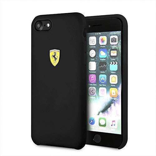 Ferrari FESSIHCI8BK - Funda para Apple iPhone 8/7, Color Negro