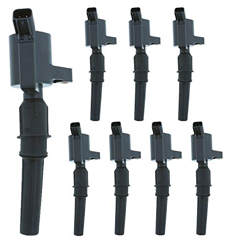 MotoRad 1IC101PK8 Ignition Coils 8 Pack   Fits select Ford Crown Victoria, E-150, E-250, E-350, Expedition, Explorer, F-150; Lincoln Town Car