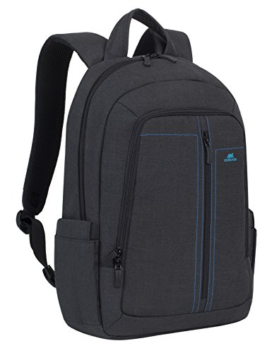 RivaCase 7560 Laptop Backpack 15.6', Zaino per Laptop Fino a 15.6', Nero