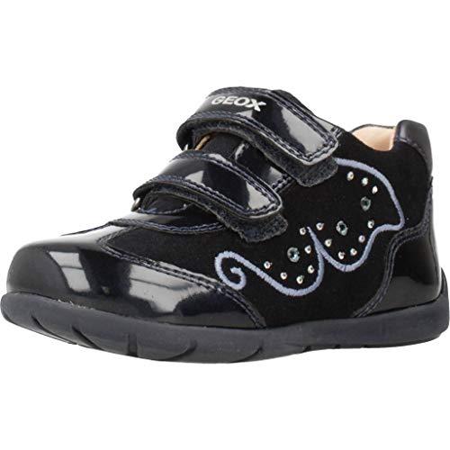 Geox Laufschuhe M�dchen, Farbe Schwarz, Marke, Modell Laufschuhe M�dchen B9451A Schwarz