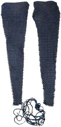 Bein- und Fuß-Kettenschutz, brüniert, passend zum Kettenhemd Kettenhemd Kettenhemd B00E4PQ4D4   | Erste Qualität  f106fc