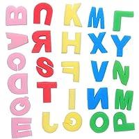 絵画用スポンジ、DIY 26文字スタンプ教育玩具アルファベット絵画用スポンジ、変形しにくい、子供向けギフト手工芸品