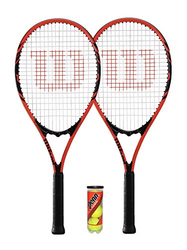 Wilson Lot de 2 raquettes de tennis Federer Adulte...