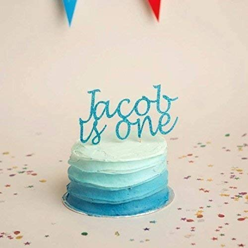 Prime Cake Topper First Birthday Custom Name And Age Party Decoration Funny Birthday Cards Online Elaedamsfinfo