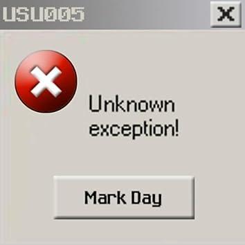 Unknown Exception