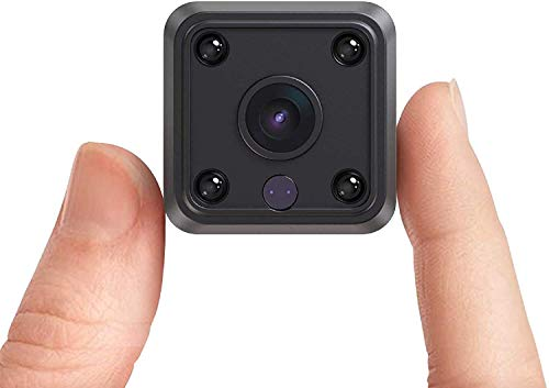 Mini Cámara 1080P WiFi IP Ltteny, Seguridad Mini cámara de vigilancia,Detección de Movimiento de Visión Nocturna por Audio, Puede Realizar la Seguridad del Hogar.