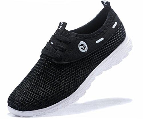 JUAN Men's Lightweight Slip On Mesh Sneakers Outdoor Athletic Running Shoes Casual Sport Shoes