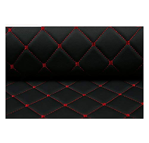 DT-DT Polipiel para Tapizar, Tela de Grano de Cuero de imitación Material texturizadoTela por Metros de Polipiel for tapizar - Tapicería -para Cojines de Coche, tamaños