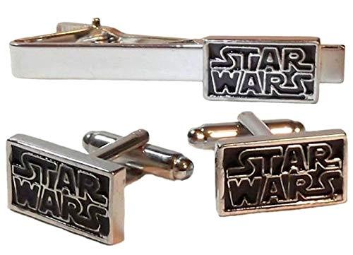 Star Wars Cravate Clip Bar boutons de manchette Logo Star Wars Cravate Clip Accessoires Boutons de manchette fantaisie