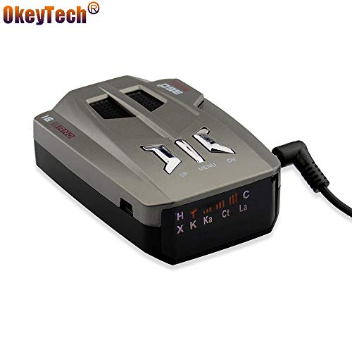 Why Choose OkeyTech V9 Best Car Radar Detector 360 Degrees LED Display Alert Warning Anti Radar Dete...