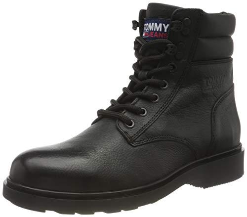 Tommy Jeans Herren Jonny 5a1 Mode-Stiefel, Schwarz, 40 EU
