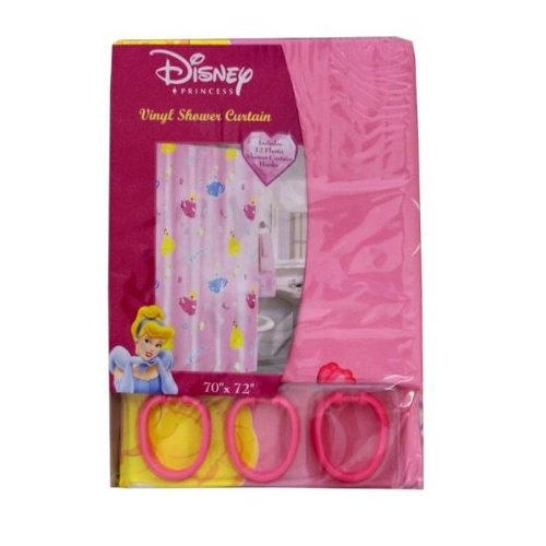 Disney Princess Vinyl-Duschvorhang