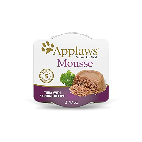 Applaws Limited Ingredient Mousse Tuna with Sardine in Broth Mousse