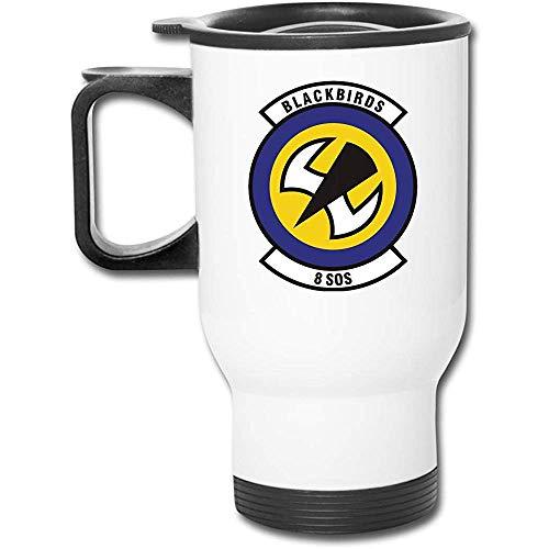 Mike-Shop Blackbirds 8 SOS Edelstahl Travel Cup Mug Autotasse