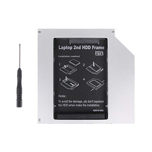 BIlinli 12.7mm 2nd HDD Caddy IDE a SATA 2.5
