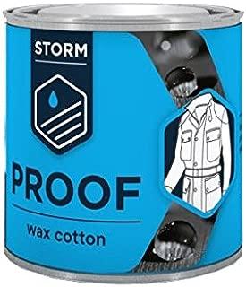 Cera pregnante para ropa Storm Rub On Wax Cotton Dressing