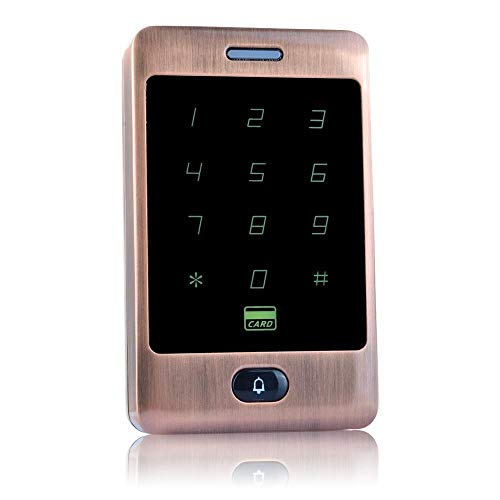 Buy Ybriefbag-Office Metal Touch Access Controller ID Card Password Access Control System Attendance...
