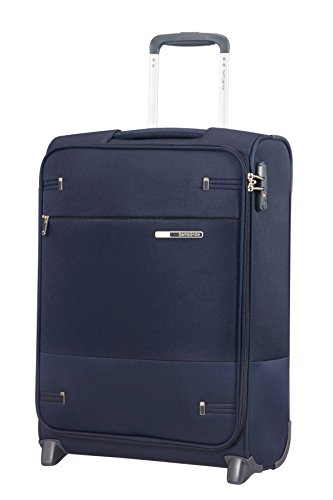 Samsonite Base Boost - Upright S (Länge 40 cm) Handgepäck, 55 cm, 41 L, Blau (Navy Blue)