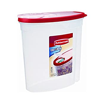 Rubbermaid Home Cereal Keeper Clear/ Red  1.5 Gal  - 1783748