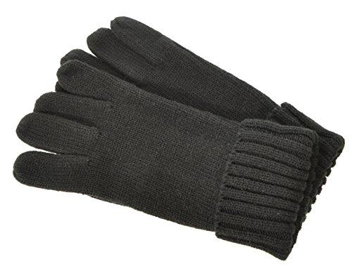 Seeberger Damen Serie Forggensee Handschuhe, Schwarz (Schwarz 0010), Medium