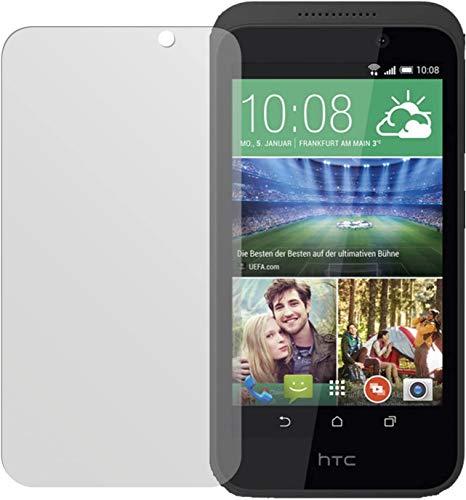 dipos I 2X Schutzfolie matt kompatibel mit HTC Desire 526G Folie Bildschirmschutzfolie