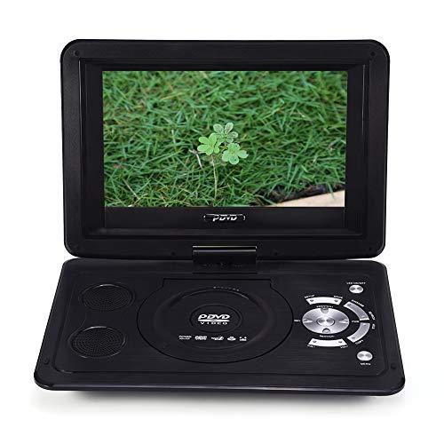 Draagbare Dvd-speler, 13,9 inch, HD tv-speler, 800 x 480 Resolutie,16: 9 Lcd Zwenkscherm,Dvd-speler voor Thuis,Videospeler met Afstandsbediening,EU-stekker.