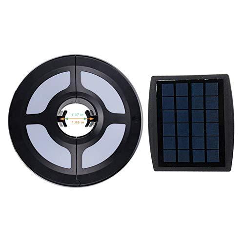 Lalaoo LED-Solarschirm Lichter, Outdoor, Terrasse, Schirm, Lampe für Camping, Zelt, Urlaub, Unterstützung, USB-Ladekabel