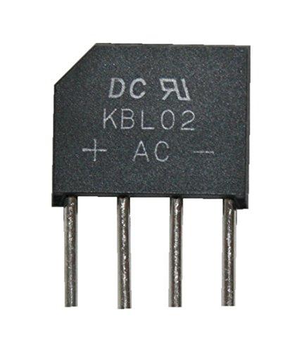 Brückengleichrichter Gleichrichter KBL02 200V 4A (0015)