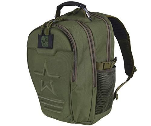 Army Rucksack Provider Daypack Cityrucksack 40 Liter Fassungsvolumen Freizeitrucksack Unisex (Oliv)