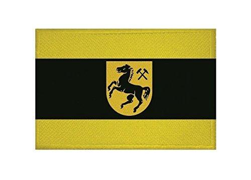 U24 Aufnäher Herne Fahne Flagge Aufbügler Patch 9 x 6 cm