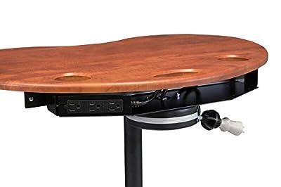Omnimed Adjustable Kidney Laptop Stand/Cart