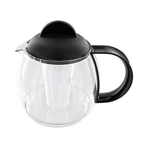 Trendglas Jena 9752M Teekrug / Teekanne, 1.8 Liter, schwarz