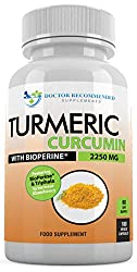 Doctor Recommended turmeric curcumin capsules